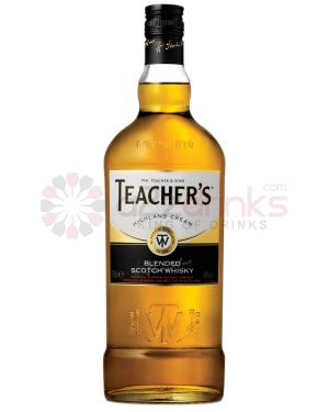 Teachers Highland Cream - Blended Scotch Whisky - 10cl - 40% ABV