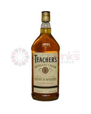 Teachers Highland Cream - Blended Scotch Whisky - 1.5 Ltr Litre - 40% ABV