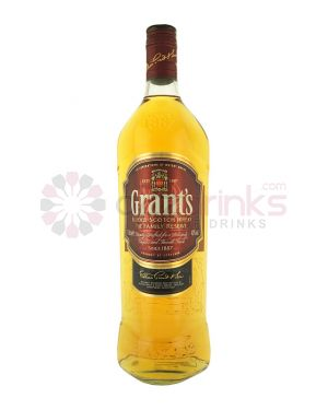 William Grants - Family Reserve - 1 Litre Bottle - Blended Scotch Whisky - 1L - 40% ABV