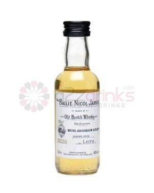 Bailie Nicol Jarvie - Blended Scotch Whisky Miniature - 5cl - 40% ABV