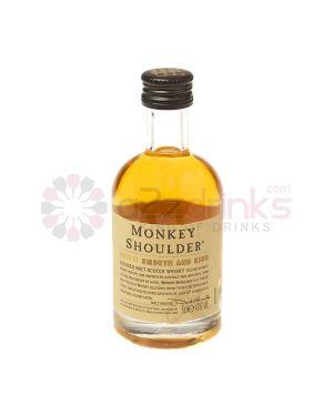 Monkey Shoulder - Blended Malt Scotch Whisky Miniature - 5cl - 40% ABV
