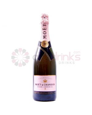 Moet and Chandon - Imperial - Rose NV Champagne - 75cl - 12% ABV