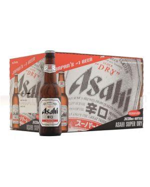 Asahi - Super Dry Japanese Premium Lager Beer Bottle - 24 x 330 ml - 5% ABV