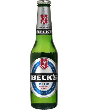Beck's Blue Alcohol Free Beer 24x275ml bottles