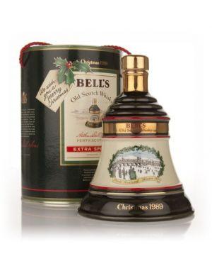Bells - Christmas Decenter 1989 - 8 yo - Superb Wade Porcela - Blended Scotch Whisky - 75cl - 40% ABV