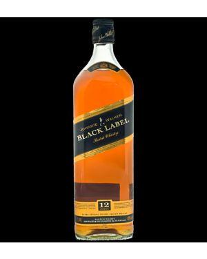 Johnnie Walker - Black Label - 12 yo - Blended Scotch Whisky - 1.5 Ltr Litre - 40% ABV
