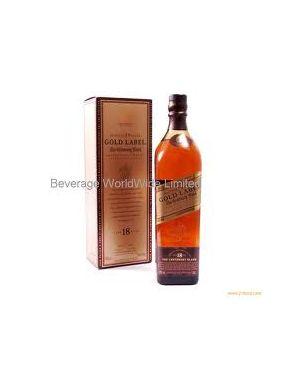 Johnnie Walker - Gold Label - 18 yo - Blended Scotch Whisky - 70cl - 40% ABV