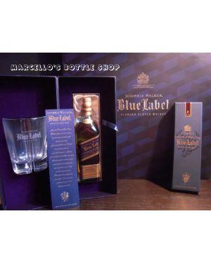 Johnnie Walker - Blue Label Gift Set - Blended Scotch Whisky - 70cl - 40% ABV