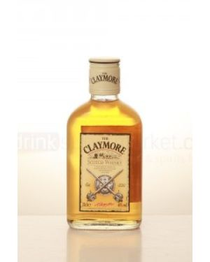 The Claymore - Blended Scotch Whisky - 1 Ltr - 40% ABV