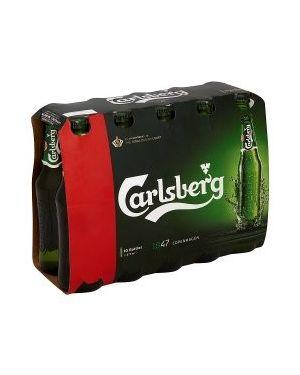 Carlsberg - Premium Danish Lager Beer Bottle - 2 x 10 x 275 ml - 3.8% ABV