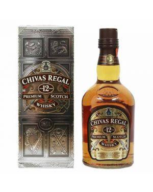 Chivas Regal - 12 yo - Blended Scotch Whisky - 40% ABV - 70cl