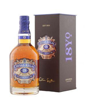 Chivas Regal - 18 yo - Gold Signature - Blended Scotch Whisky