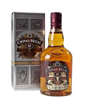 Chivas Regal - 12 yo - Blended Scotch Whisky - 35cl - 40% ABV
