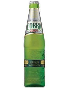 Cobra Zero Alcohol Free Lager (24 x 330ml Bottles)