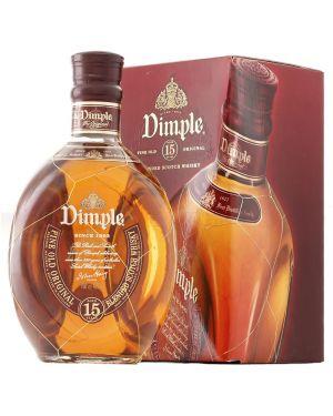 John Haig Dimple / Pinch - 15 yo - Blended Scotch Whisky - 70cl - 40% ABV