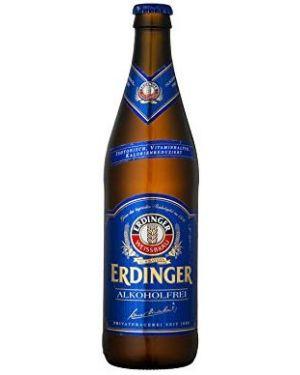 Erdinger Alkoholfrei Beer, 500 ml, Case of 12 (Alcohol free)