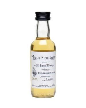 Bailie Nicol Jarvie - Blended Scotch Whisky Miniature - 5cl - 40% ABV
