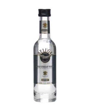 Beluga - Luxury Russian Vodka Miniature - 5cl - 40% ABV