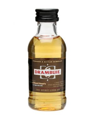Drambuie - Heather Honey and Whisky Liqueur Miniature - 5cl - 40% ABV