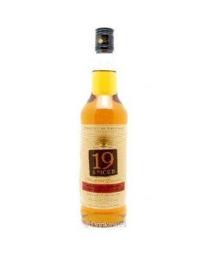 19 Spiced - Vanilla Flavoured Gold Trinidad Rum Rhum Ron - 70cl - 35% ABV