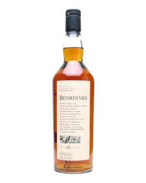 Benrinnes 15 yo - Speyside Single Malt Scotch Whisky - 70cl - 43% ABV