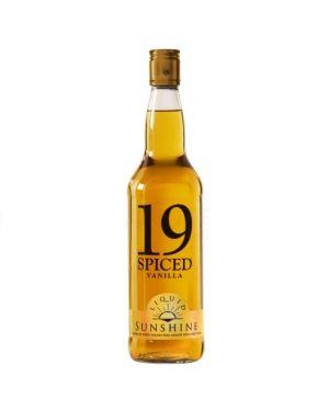 VAT 19 Spiced - Vanilla Flavoured Gold Trinidad Rum Rhum Ron - 1 Ltr - 35% ABV