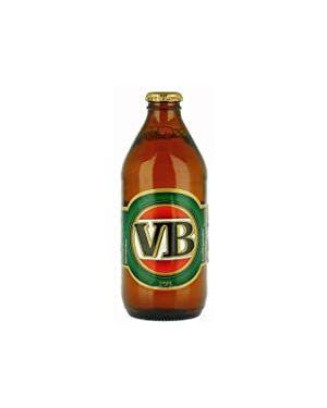 VB Victoria Bitter lager 24x375ml Bottle Case