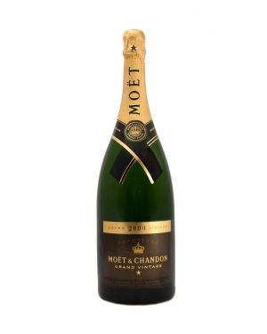 Moet and Chandon - 2000 - Brut Grand Vintage Champage - 1.5 Ltr Magnum - 12.5% ABV