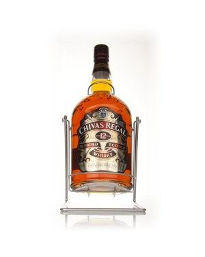 Chivas Regal - 12 yo - Blended Scotch Whisky - 4.5 Ltr Litre - 40% ABV
