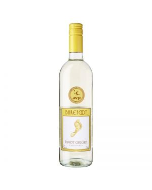 Barefoot - Pinot Grigio - Californian White Wine - 75cl Single Bottle